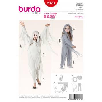 Patron Burda 2370 : Fantôme T104 à 152