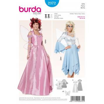 Patron Burda 2372 : Elfe T34 à 44