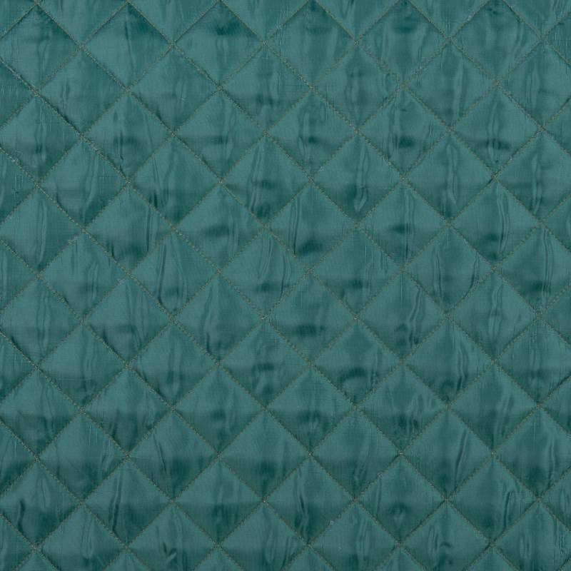 Doublure matelassé vert anglais