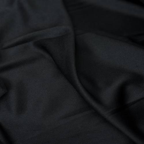 Maille extensible unie noire