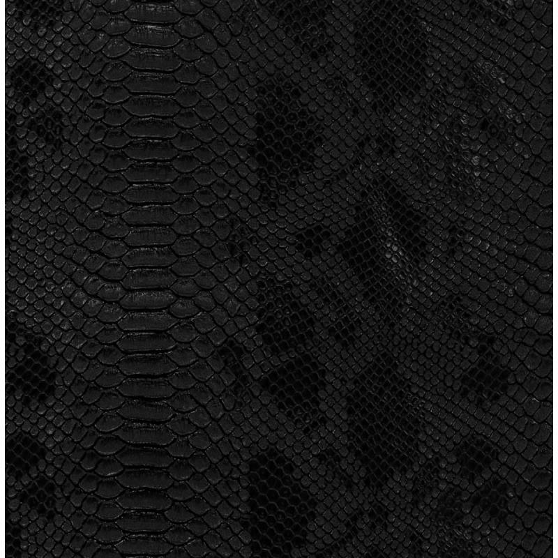 Simili cuir Dragon noir