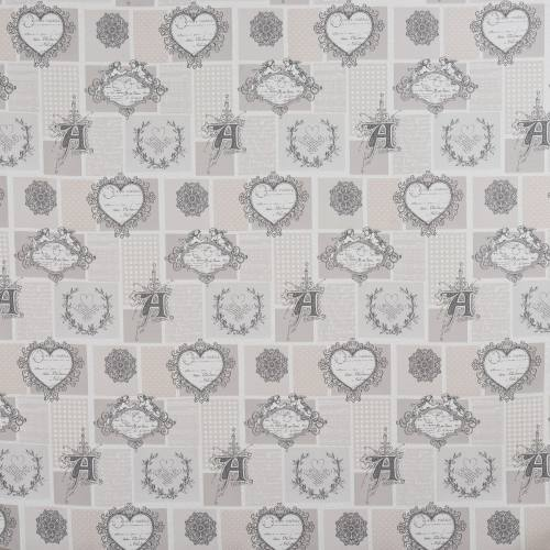 Jacquard broderie angelot