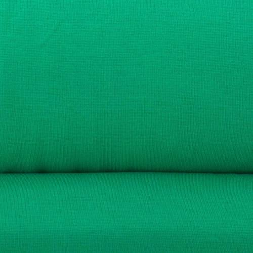 Tissu tubulaire bord-côte vert