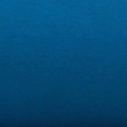 Tissu tubulaire bord-côte bleu pétrole