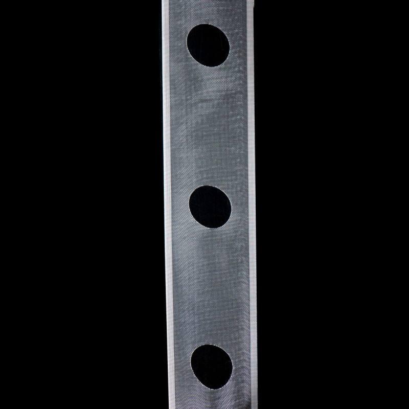 Bande de renfort prépercée transparente 10 cm