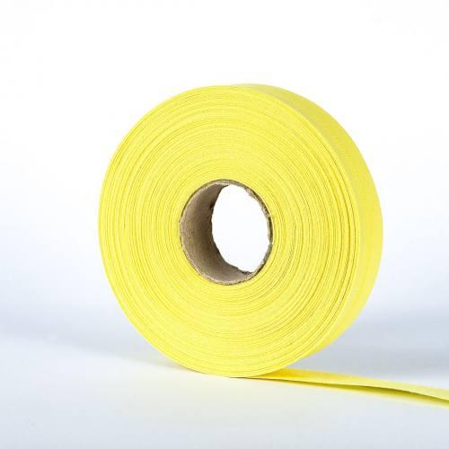Bobine de biais 20 M - jaune pâle 58