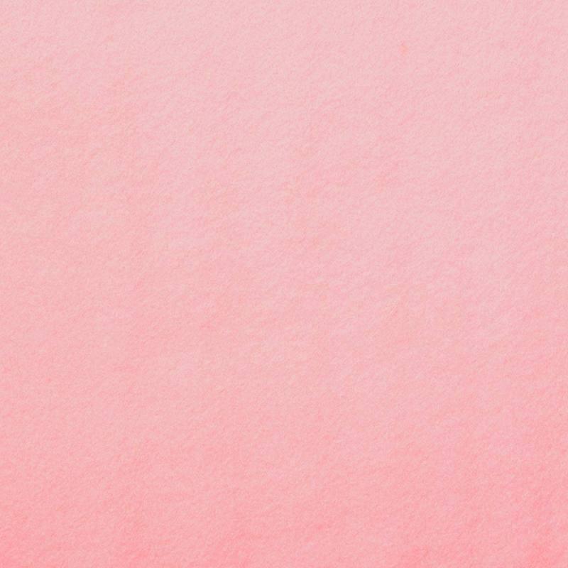 Feutrine épaisse rose clair 91cm