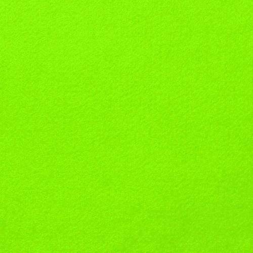 Feutrine vert fluo 91cm