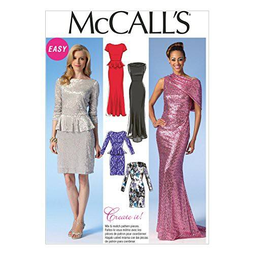 Patron Mc Call's M7047: Robe Taille: 42-50