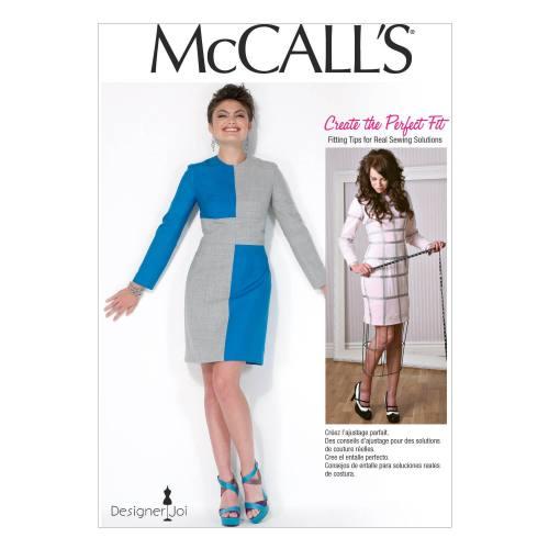 Patron Mc Call's M7089: Robe Taille: 34-42