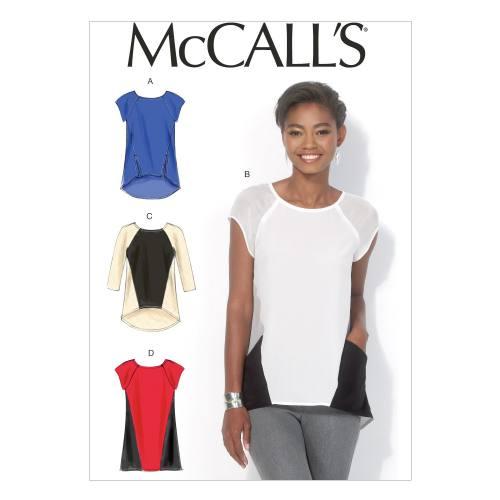 Patron Mc Call's M7093: Haut et tunique Taille: 42-50