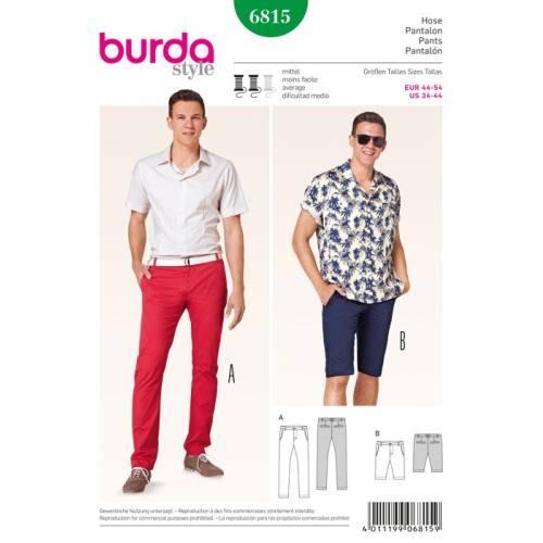 Patron N°6815 Burda Style : Pantalon Taille : 44-54