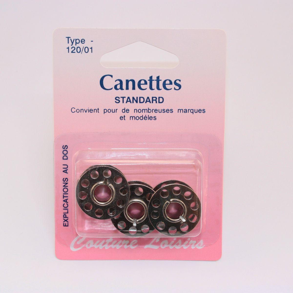 Canettes universelles métal X3
