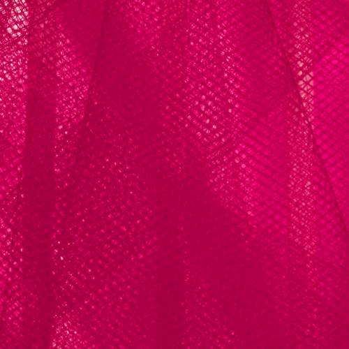Tulle fuchsia pour robe de mariée grande largeur