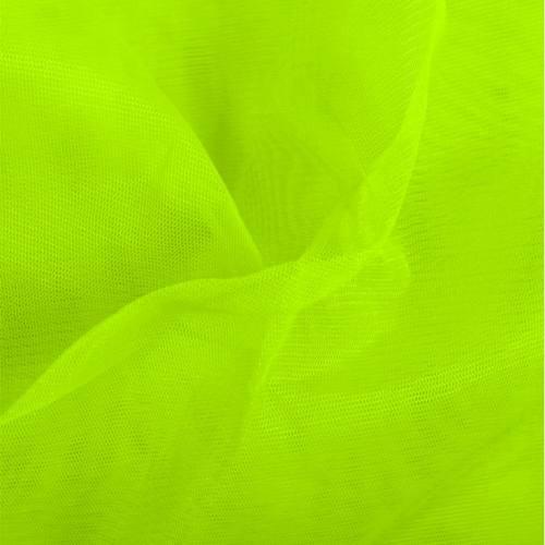 Tulle jaune fluo
