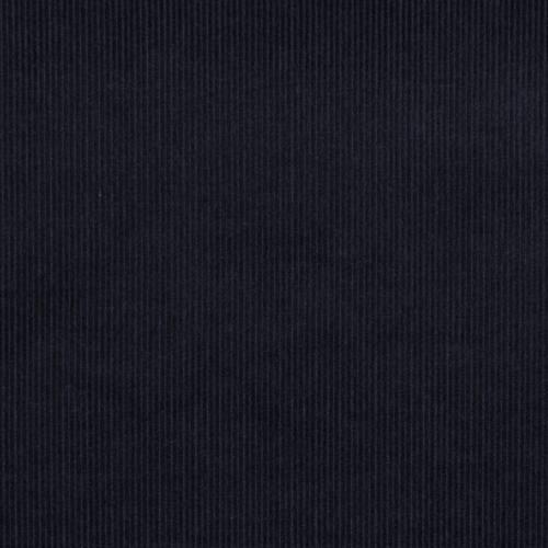 Velours côtelé bleu marine