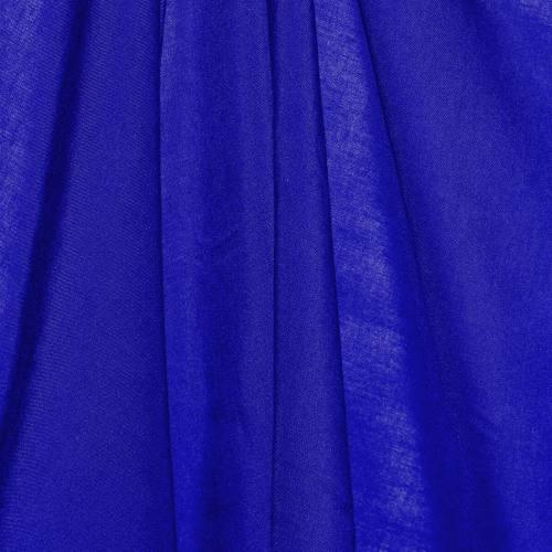 Viscose unie bleu roi