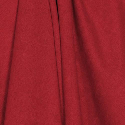 Suédine rouge anti-taches