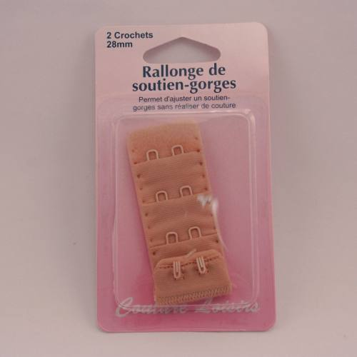 Rallonge de soutiens-gorge chair 28mm