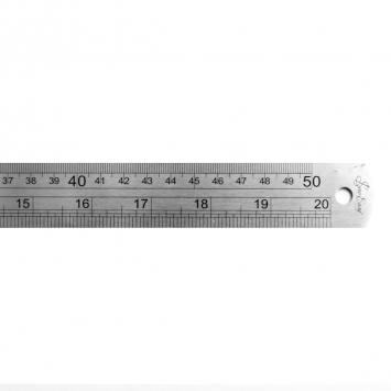 Réglet métal 50 cm