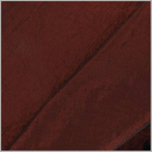 Taffetas rouge carmin doublé en maille contrecollée