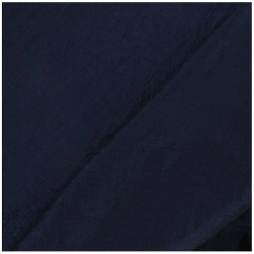 Taffetas bleu nuit doublé en maille contrecollée