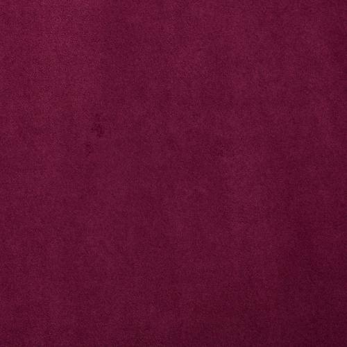 Suédine alaska réversible fuchsia/aubergine