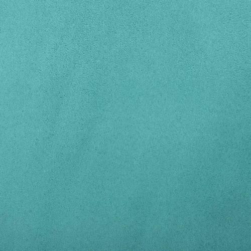 Suédine alaska réversible turquoise/vert d'eau