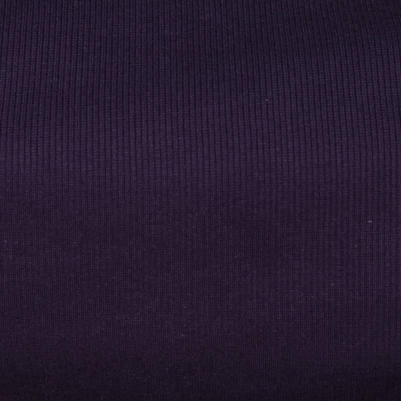 Tissu tubulaire bord-côte maille violet