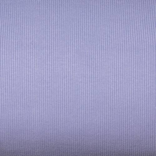 Tissu tubulaire bord-côte maille lilas