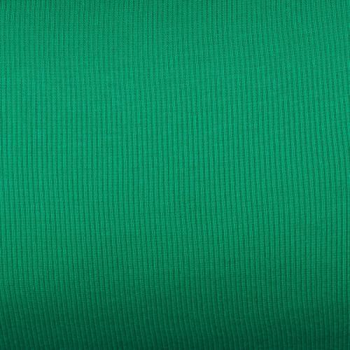 Tissu tubulaire bord-côte maille vert