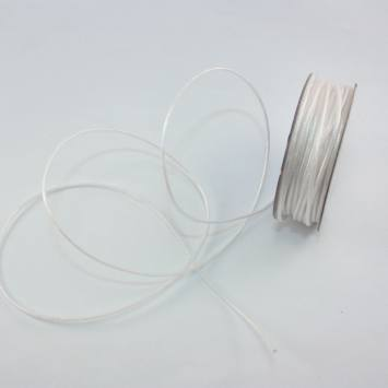 Cordelette en bobine blanc 1.6 mm