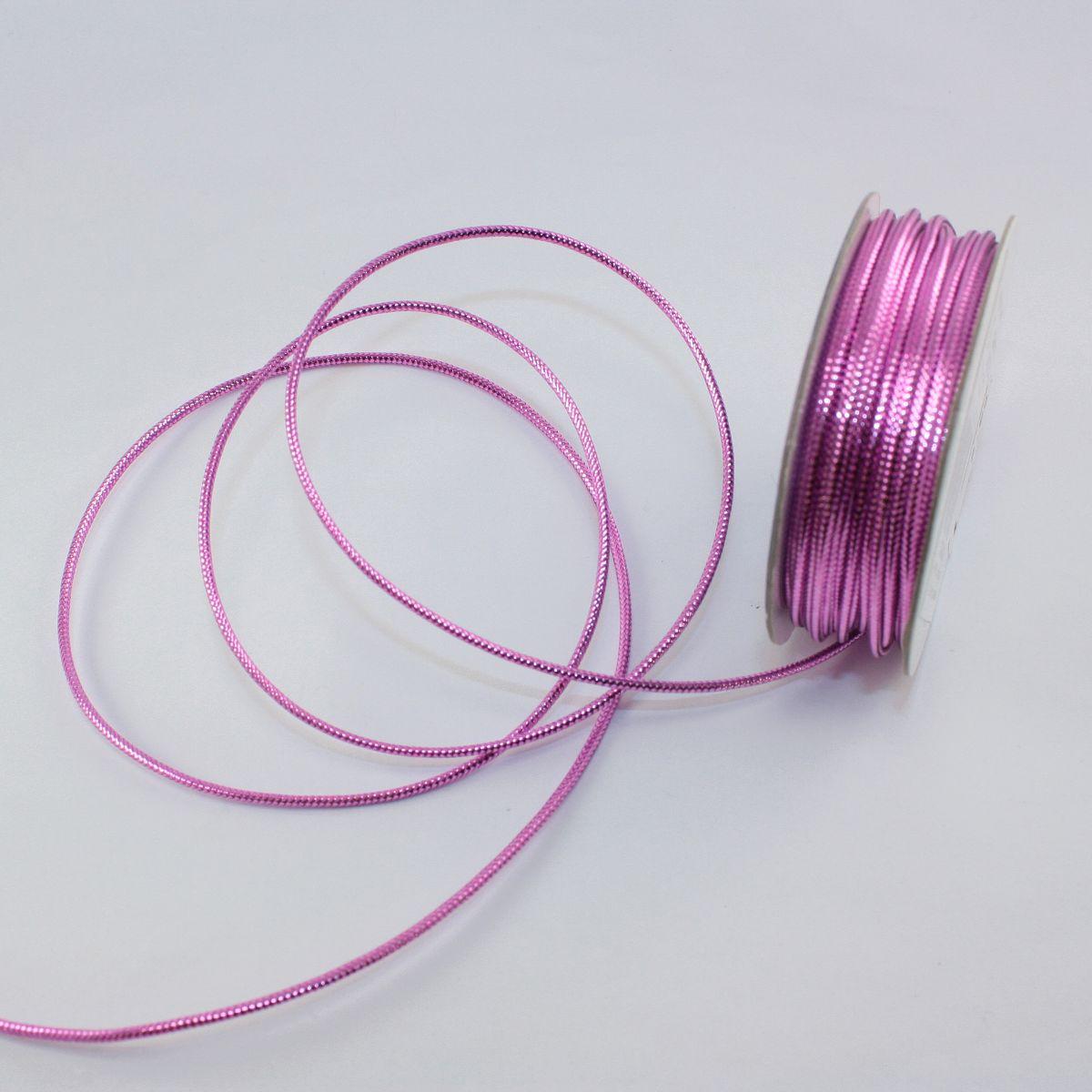Cordelette en bobine rose foncé 1.6 mm