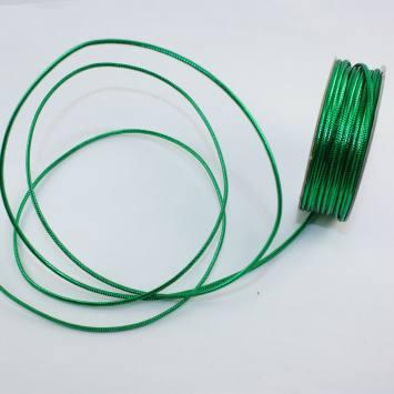 Cordelette en bobine vert 1.6 mm