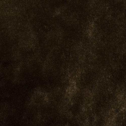 Fausse fourrure poils ras marron foncé