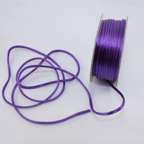 Cordelette en bobine violet 2 mm