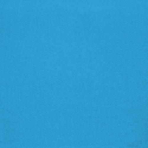 Coton 280 cm uni bleu turquoise