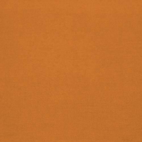 Coton 280 cm uni potiron