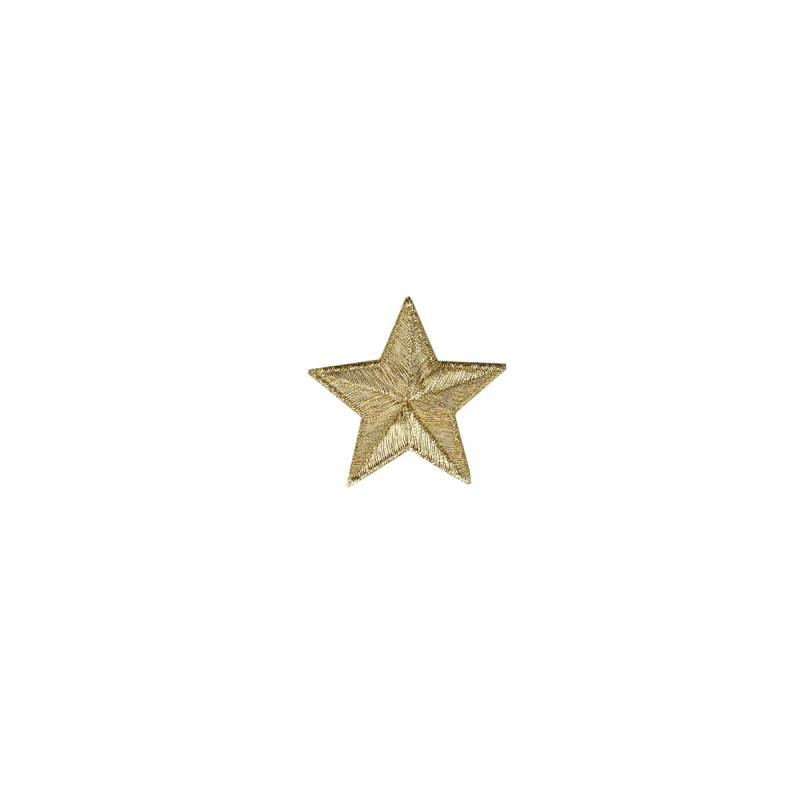 """Ecusson """"Petite étoile dorée"""" thermocollant"""