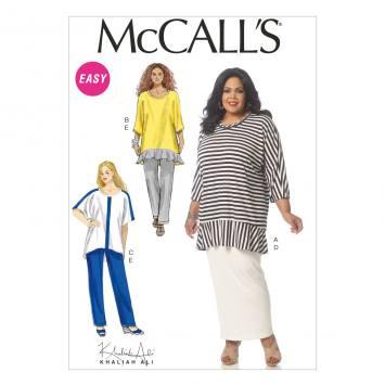 Patron Mc Call's M7133: Haut, pantalon et combinaison Taille: 42-50