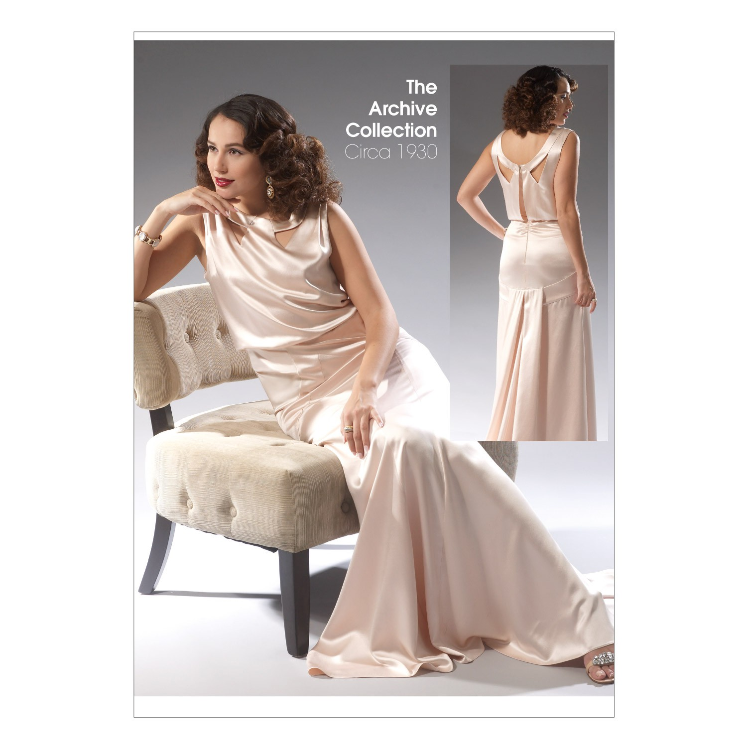 Patron robe longue taille 48