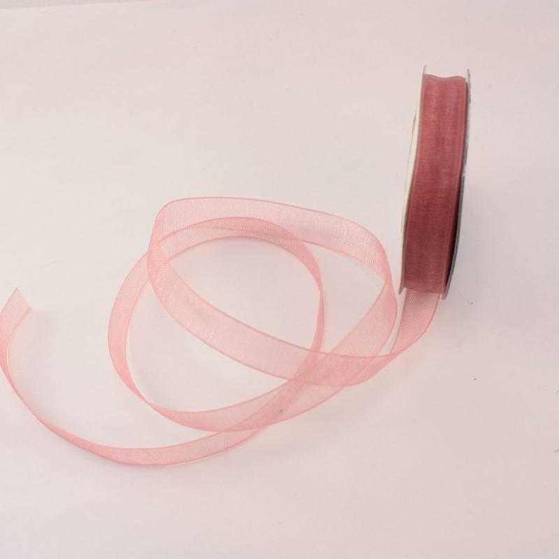 Ruban organdi en bobine balais 9 mm