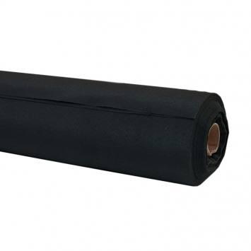 Rouleau - Toile ignifugée M1 permanent noir (30 mètres)