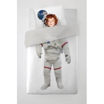 Parure de lit enfant astronaute