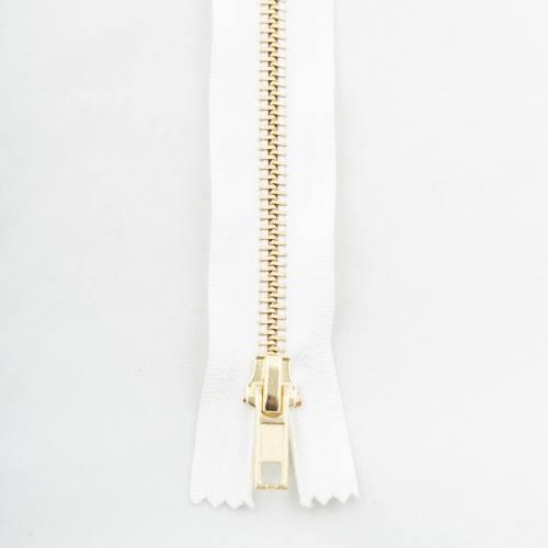 Fermeture 25 cm métal séparable Col 101