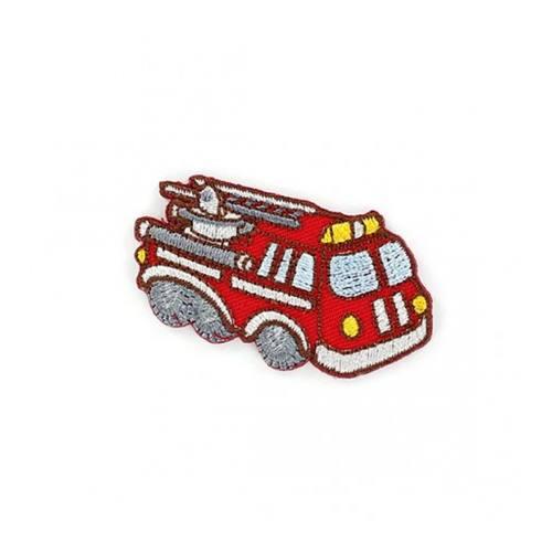 """Ecusson """"Camion de pompier"""" thermocollant"""