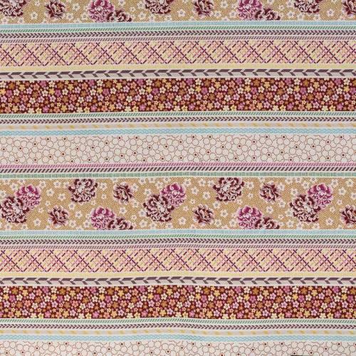 Jacquard orange patchwork