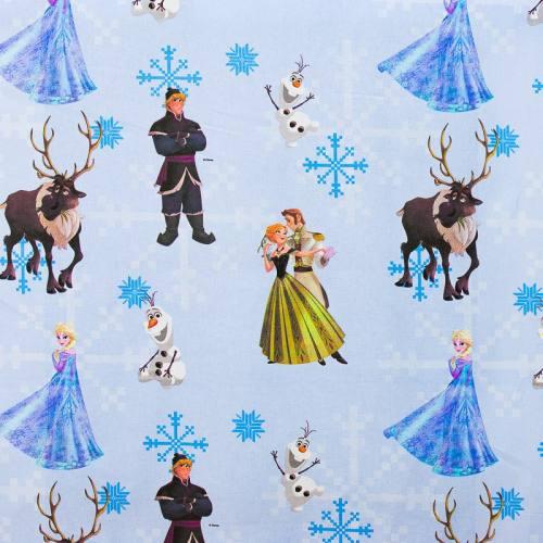 Coton bleu Disney La Reine des Neiges Bal