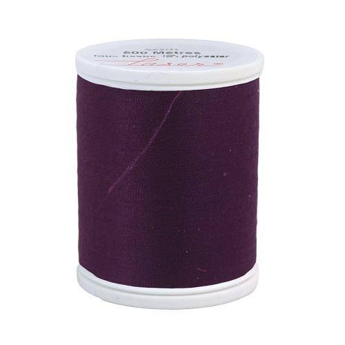 Fil à coudre polyester prune 2322