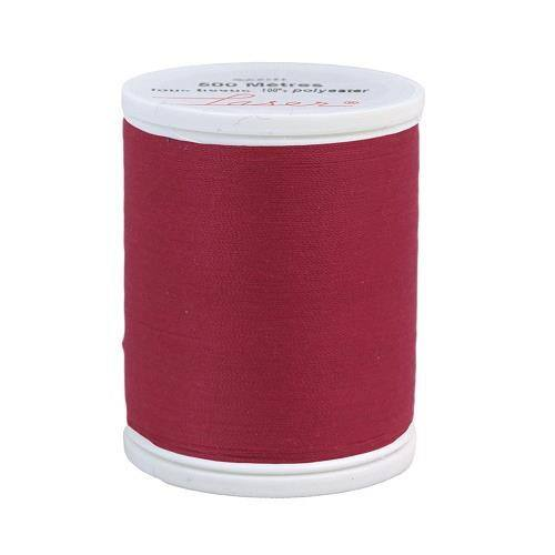 Fil à coudre polyester framboise 2420